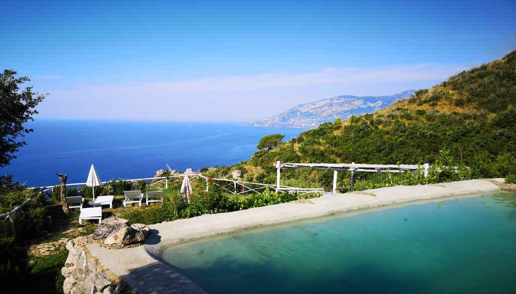 Pool Aussicht auf das Meer