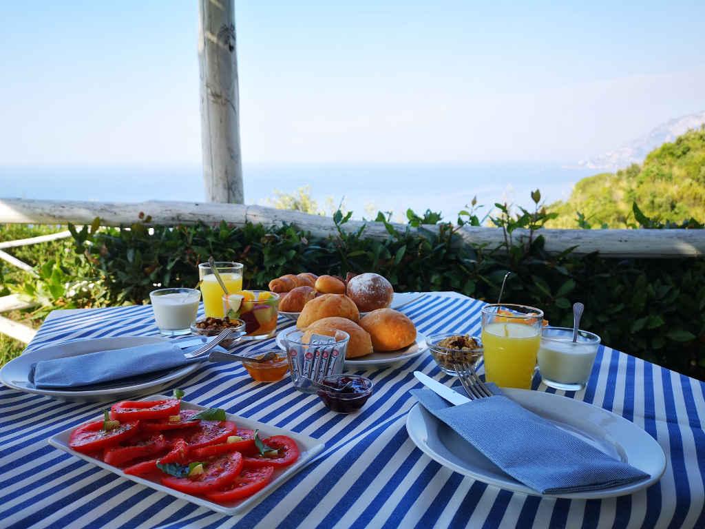 Frühstück mit View