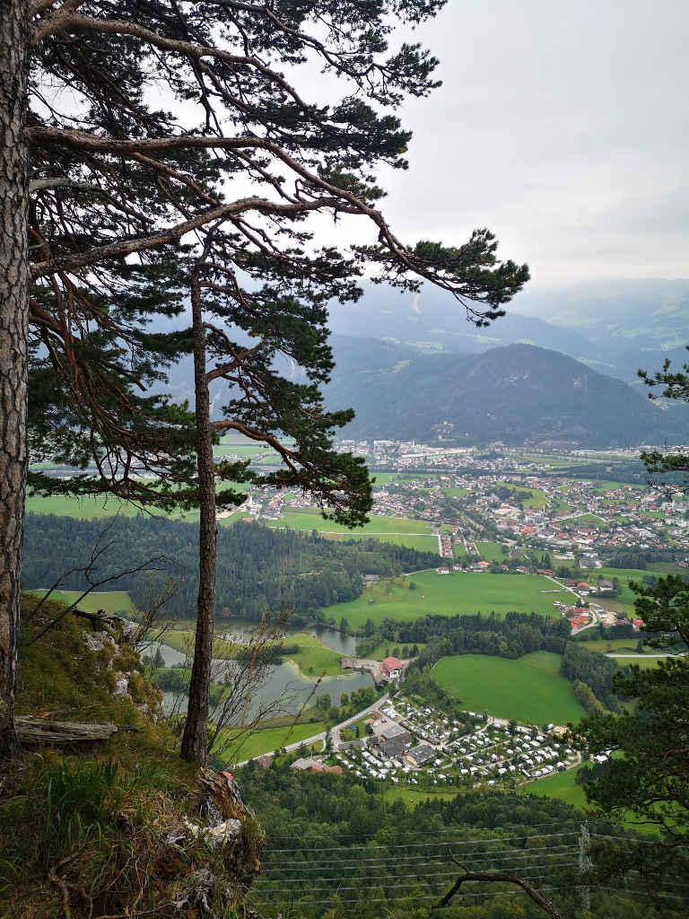 Blick auf das Alpbachtal