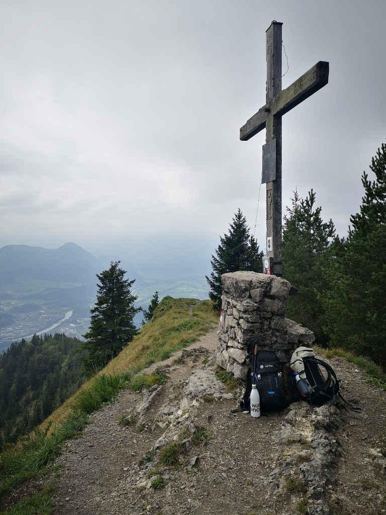 Gipfelkreuz Voldöpper Spitze