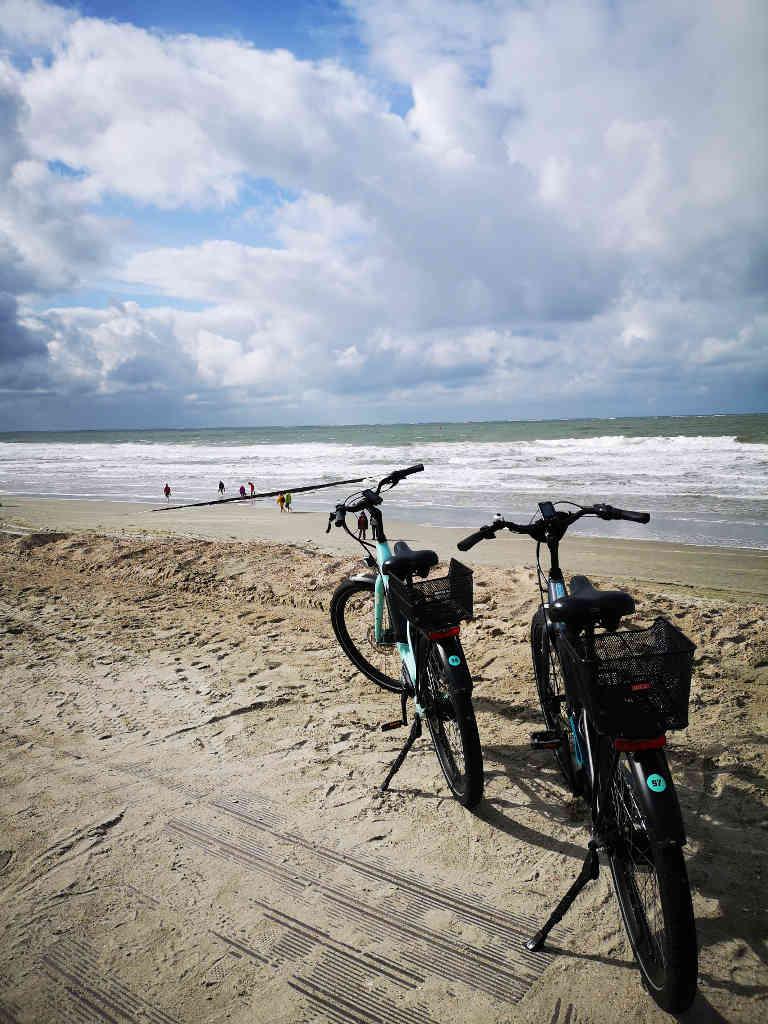 Radtour an der Nordsee