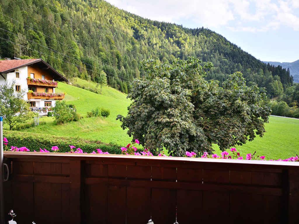 Balkon-Ausblick vom Hotel