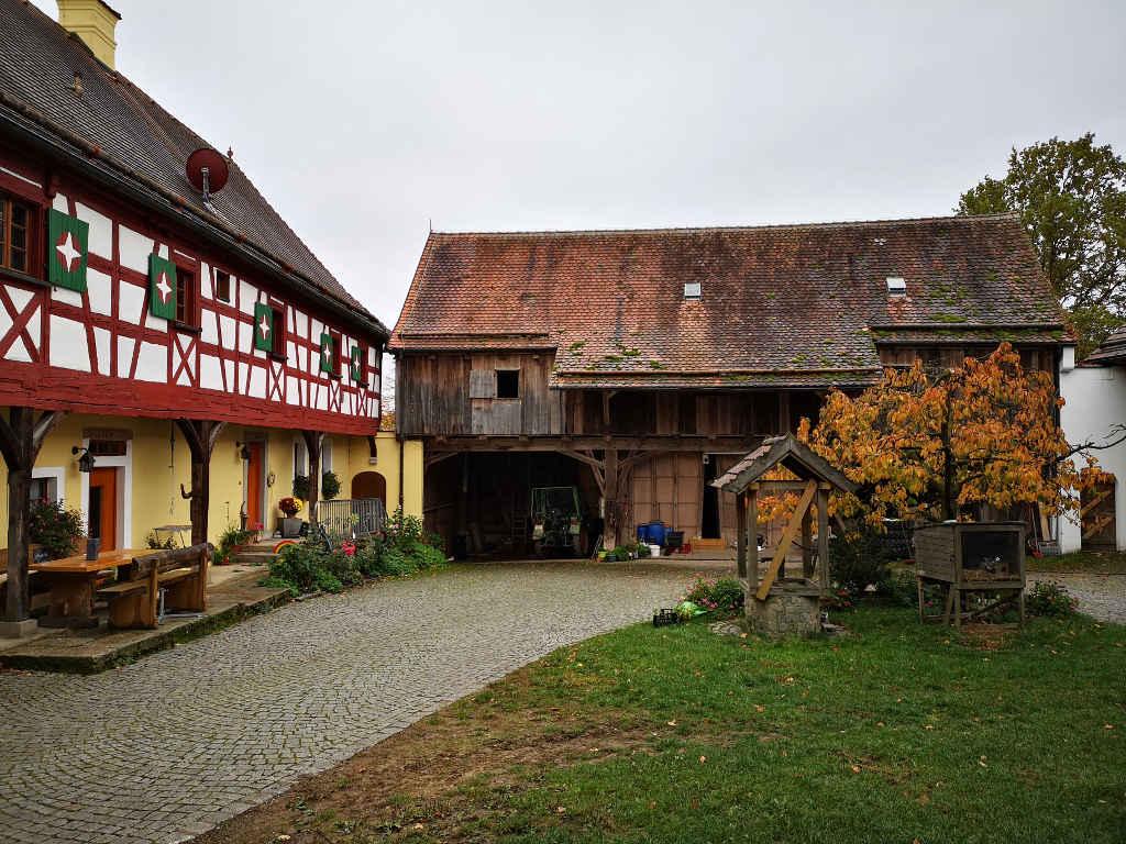 Egerländer Fachwerkhaus Kesslsimerhof