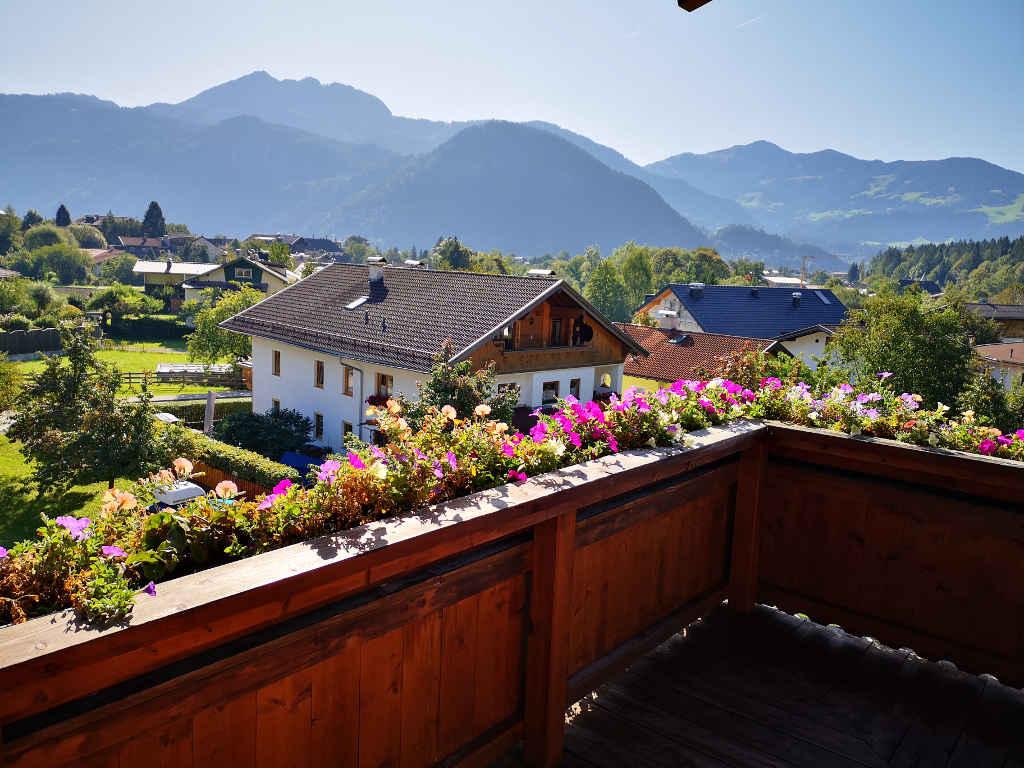 Balkonblick auf die Brandenberger Alpen