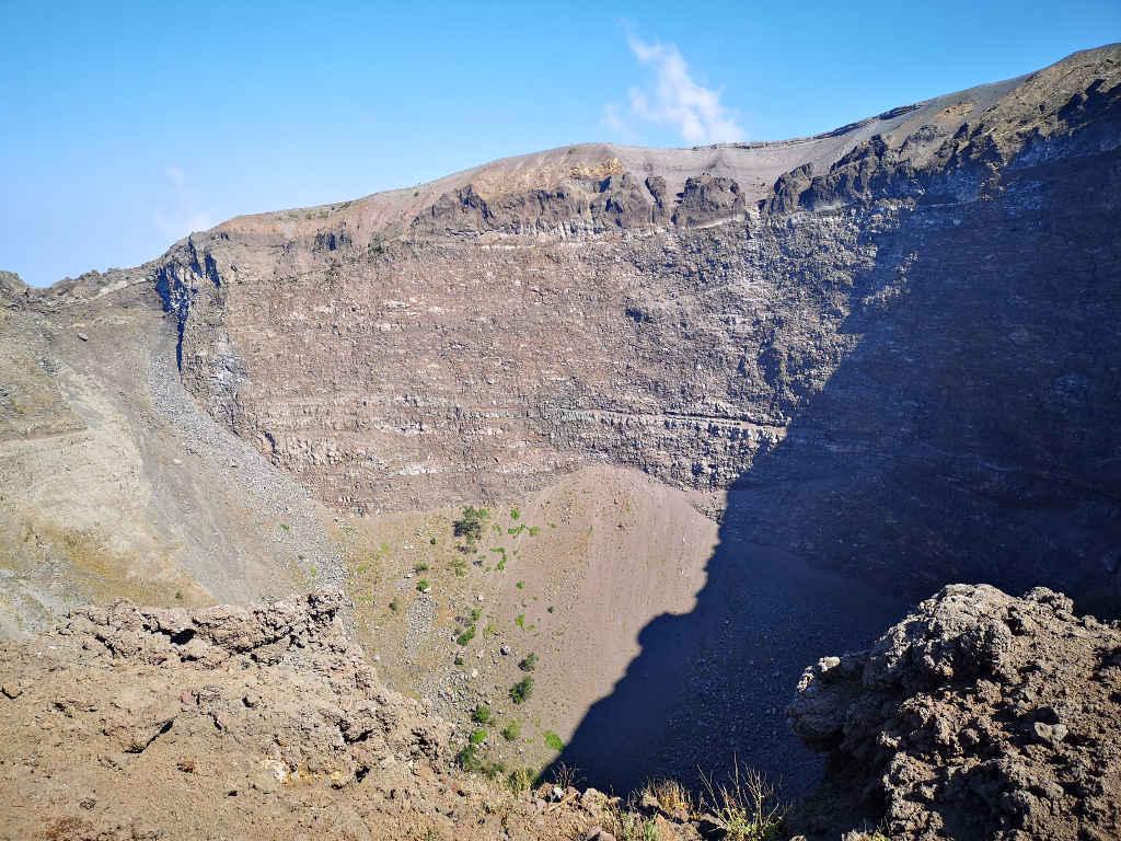 Vesuv Vulkankrater