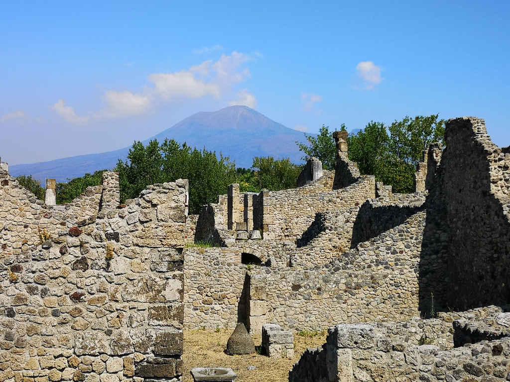 Der Vesuv im Blickfeld