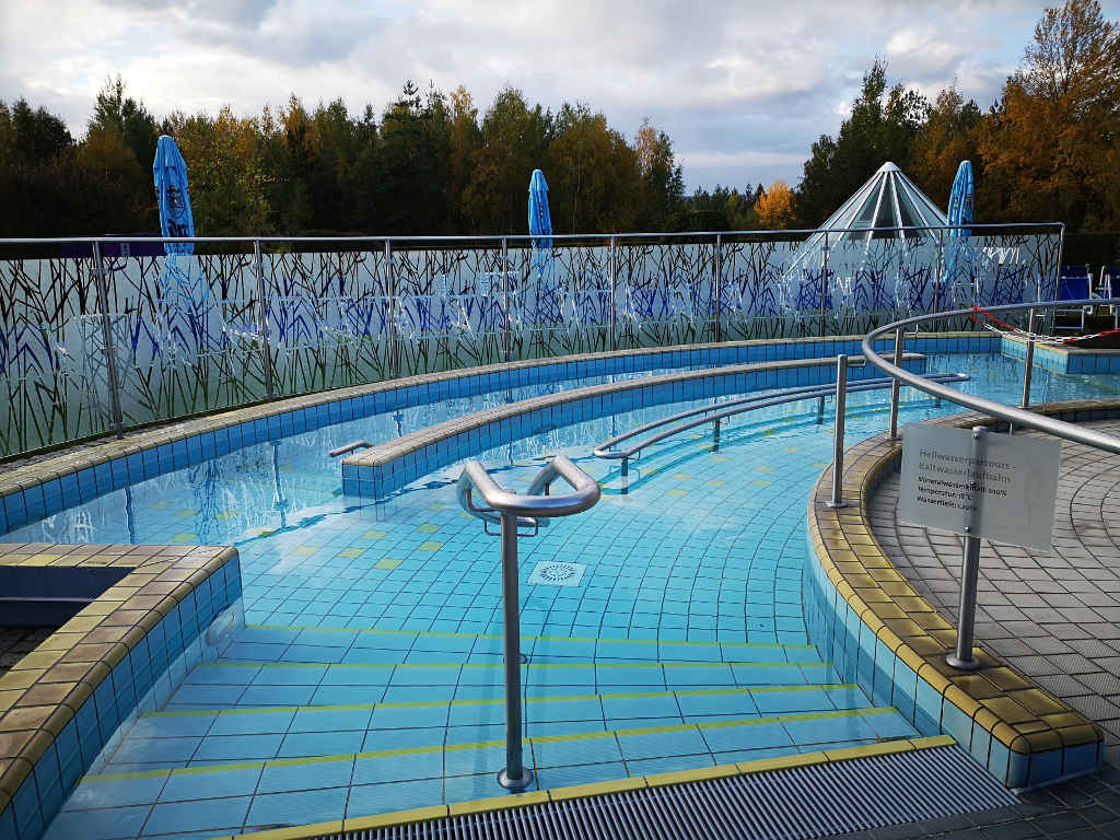 Heilwasser Parcours in der Badelandschaft