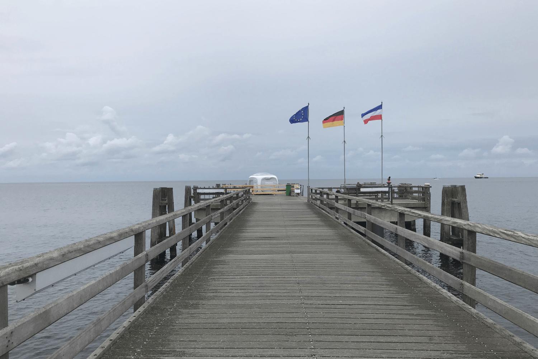 Ostsee Urlaub Tipps: Seebrücke Großenbrode ©Ria on Tour