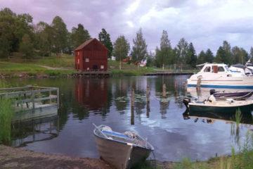 Roadtrip Schweden - Campinplatz mit Blick auf den See