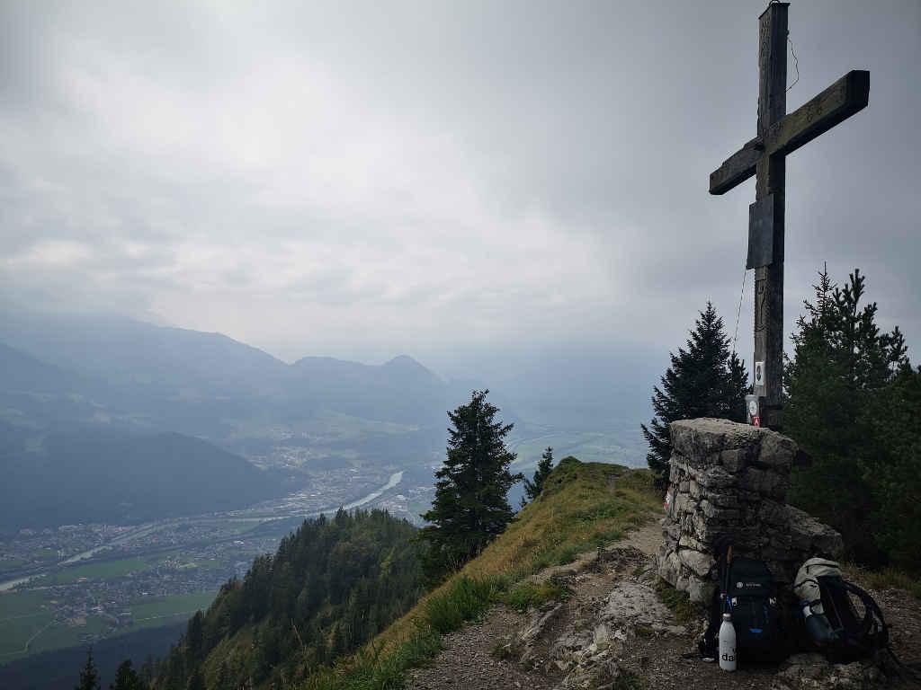Ziel - das Gipfelkreuz