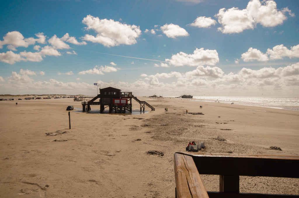Strand von St. Peter-Ording ©Katetravels