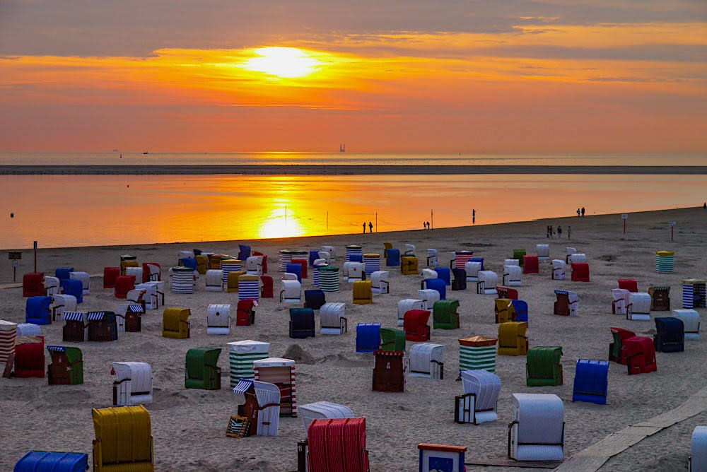 Borkum Sonnenuntergang ©Passenger On Earth