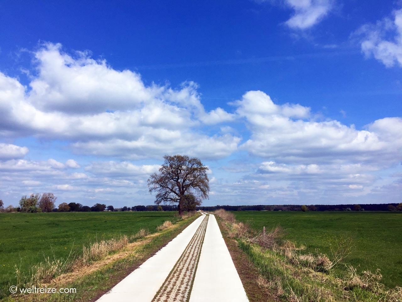 Unterwegs von Brambach bis nach Magdeburg ©Weltreize