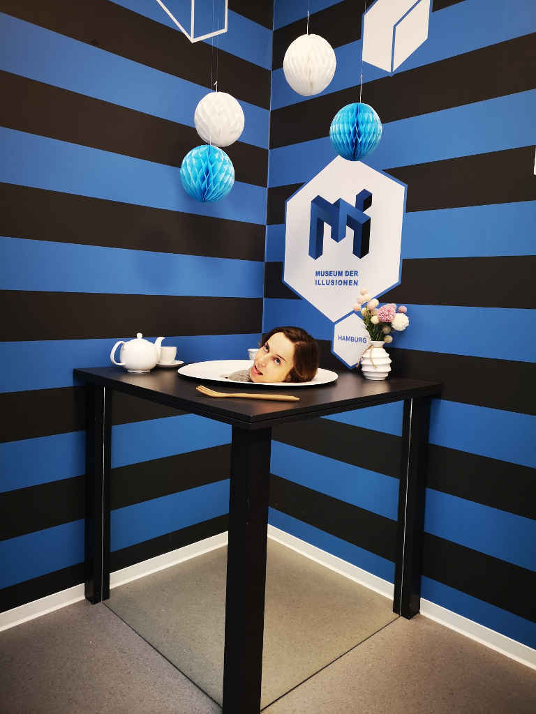 Museum der Illusion - Guten Appetit
