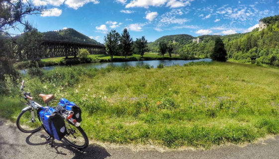 Radtour Donauradweg