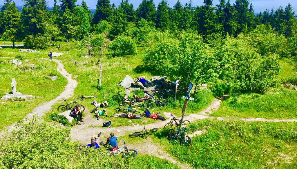 Fichtelgebirge Radtour mit dem Mountainbike