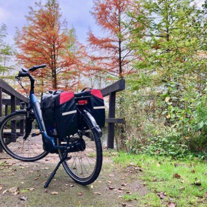 Osteradweg Radtour im Herbst