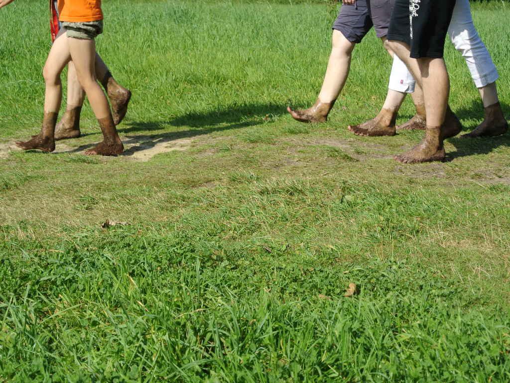 Barfußlaufen in Egestorf - Wellness für die Füße