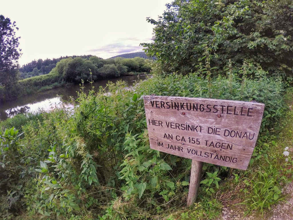 Versinkungsstelle Donau ©TravelTelling