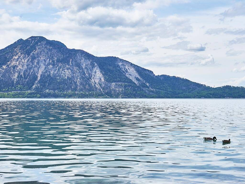 Der Walchensee eignet sich für eine Rad-Pause ©Abenteuerzeilen