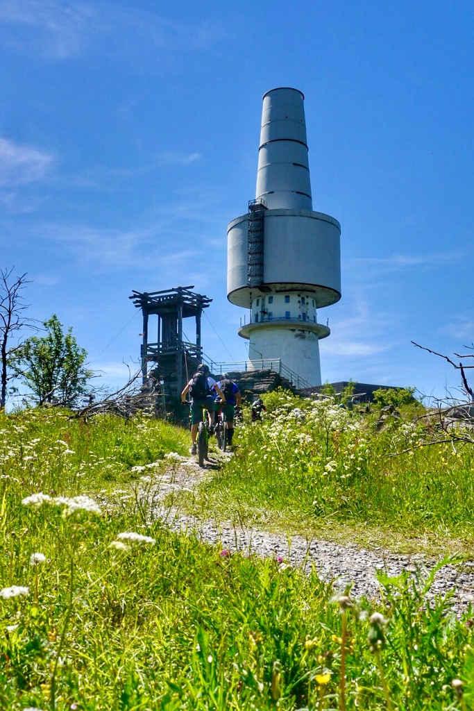 Fernmeldeturm auf dem Schneeberg  ©MYTHOS EBIKE