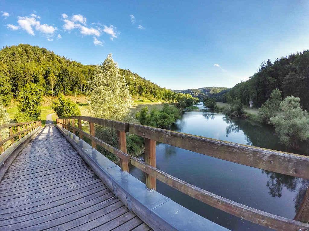 Unterwegs auf dem Donauradweg ©TravelTelling