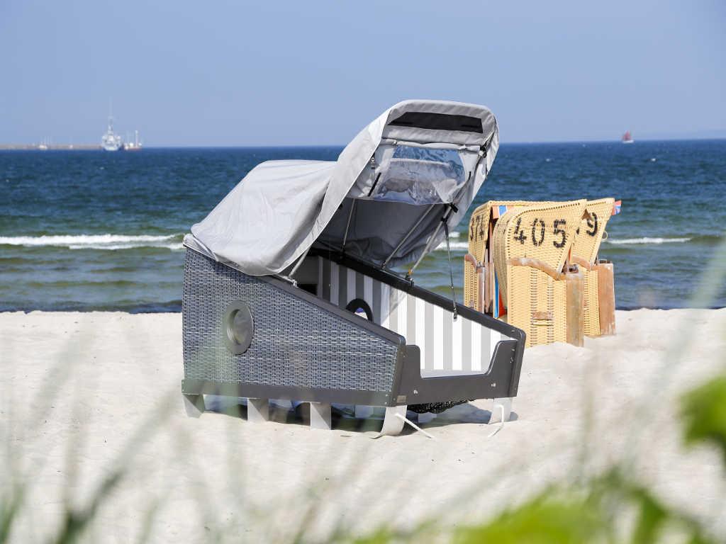 Schlafstrandkorb © Eckernförde Touristik & Marketing GmbH