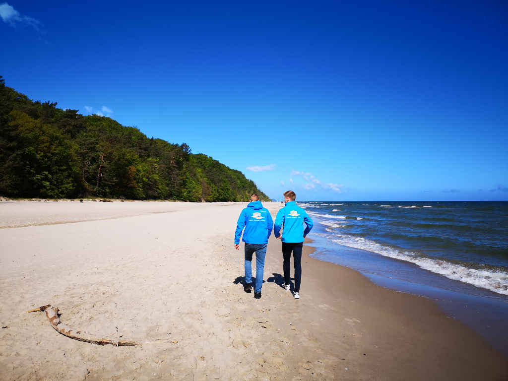 Klimawanderung Insel Usedom