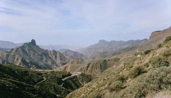 Wandergebiet um Tejeda. Ausblick auf den Roque Nublo - Tipp Gran Canaria Wanderun