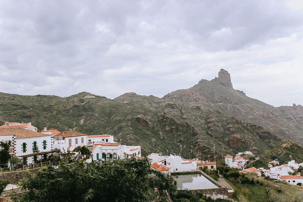 Traumhafter Blick auf Tejeda und den Roque Nublo ©Outdoornomaden