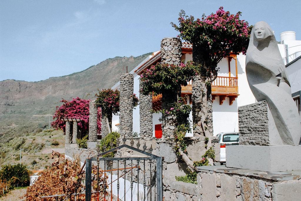 Bergdorf Tejeda im Herzen Gran Canarias ©Outdoornomaden