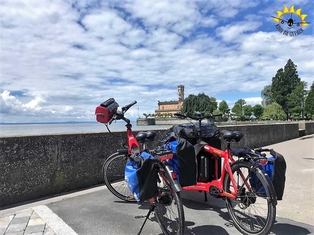 Fahrradtour entlang des Bodensees ©Kind im Gepäck
