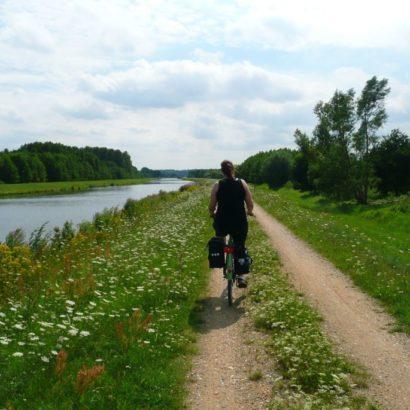 Fahrradtour in Deutschland