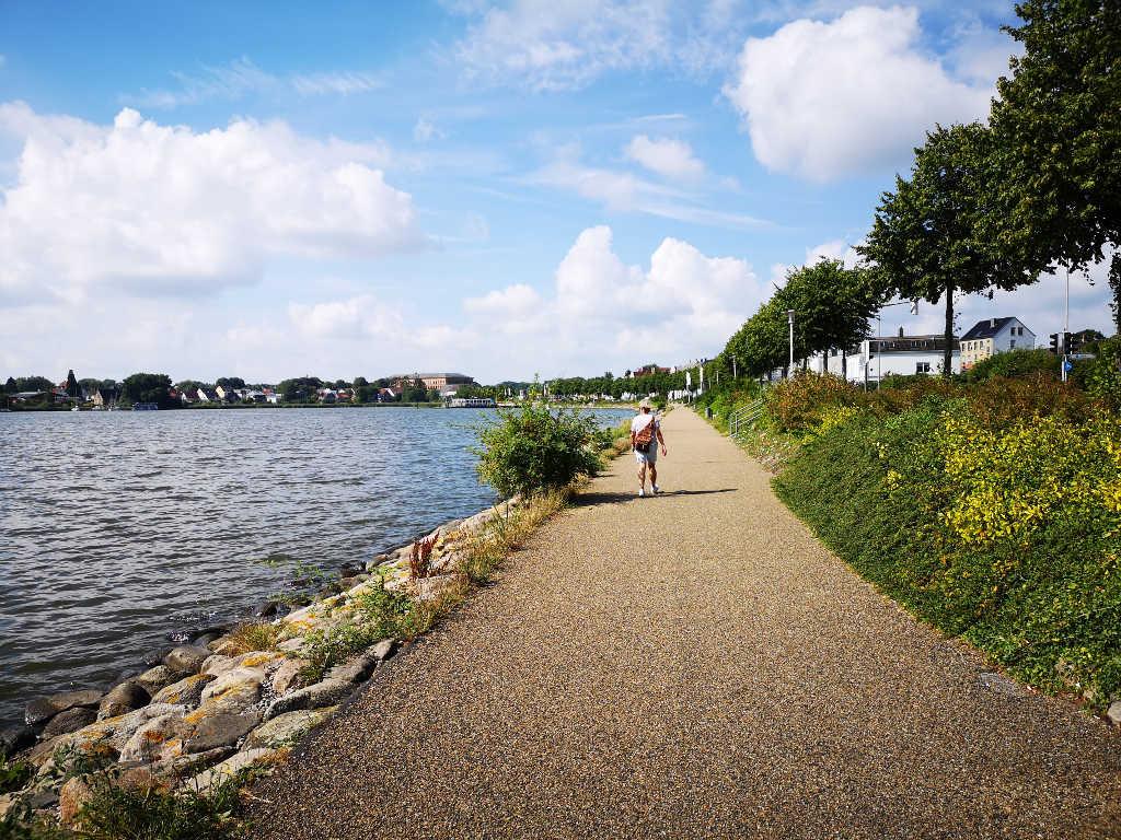 Promenade entlang der Schlei