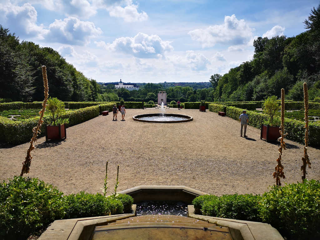 Terrassen im Barockgarten