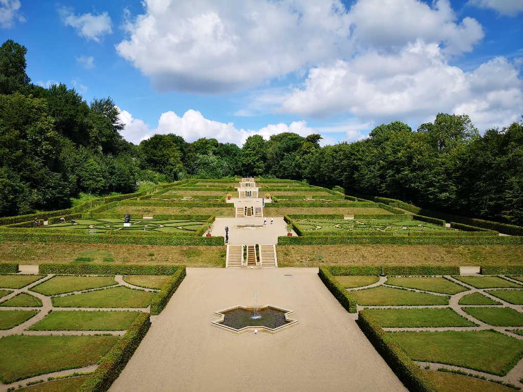 Barockgarten im Schloss Gottorf