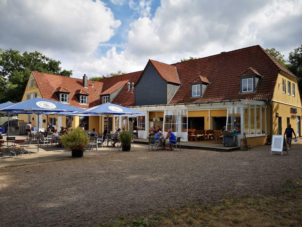 Odins Haddeby Restaurant mit Biergarten