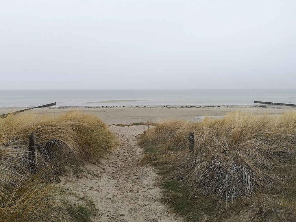 Insel Poel - Strandspaziergang im Winter