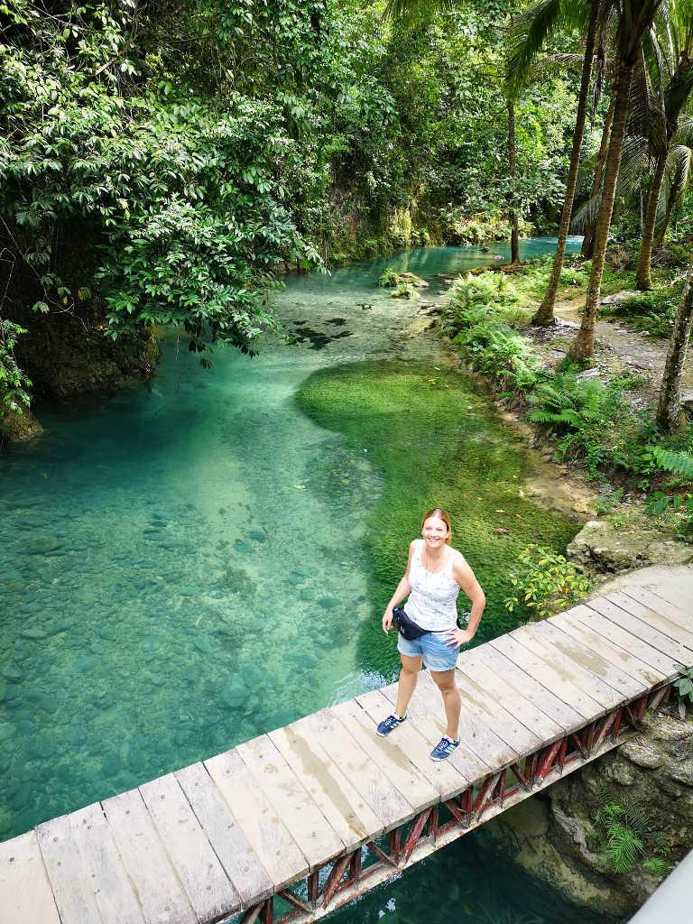 Marina Schütt vom MS WellTravel Reiseblog auf den Philippinen