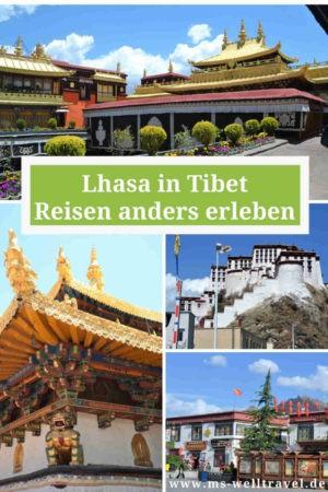 Tibet Reise Startpunkt Lhasa
