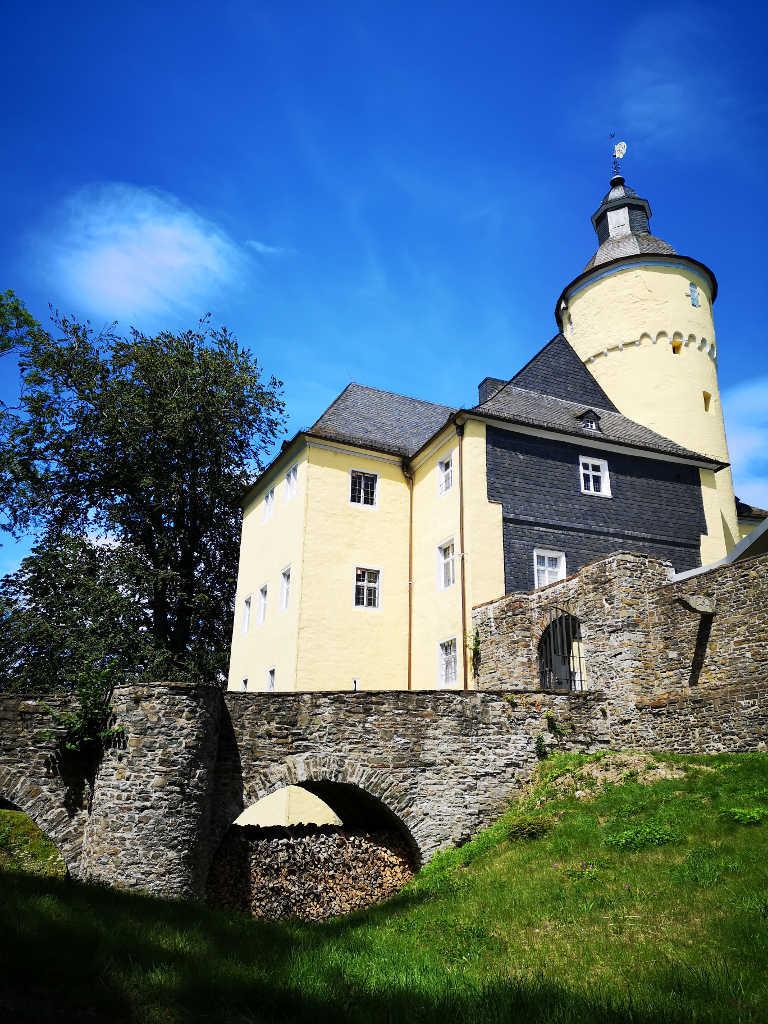 Schloss Rückseite