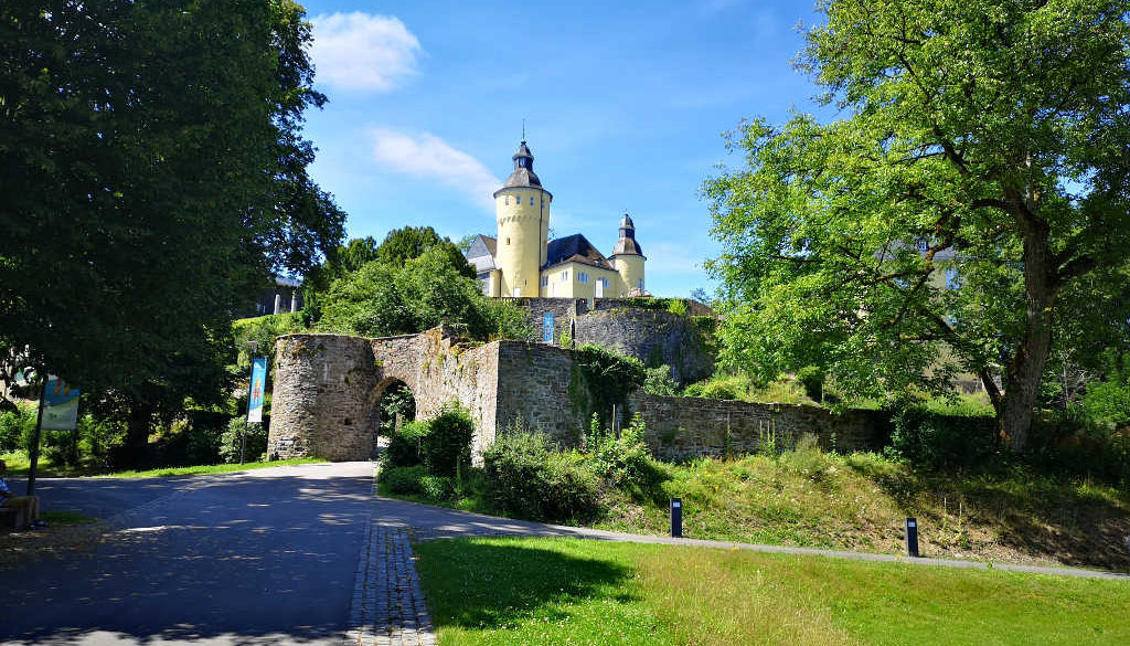 Schloss Homburg - Ausflugsziele Bergisches Land