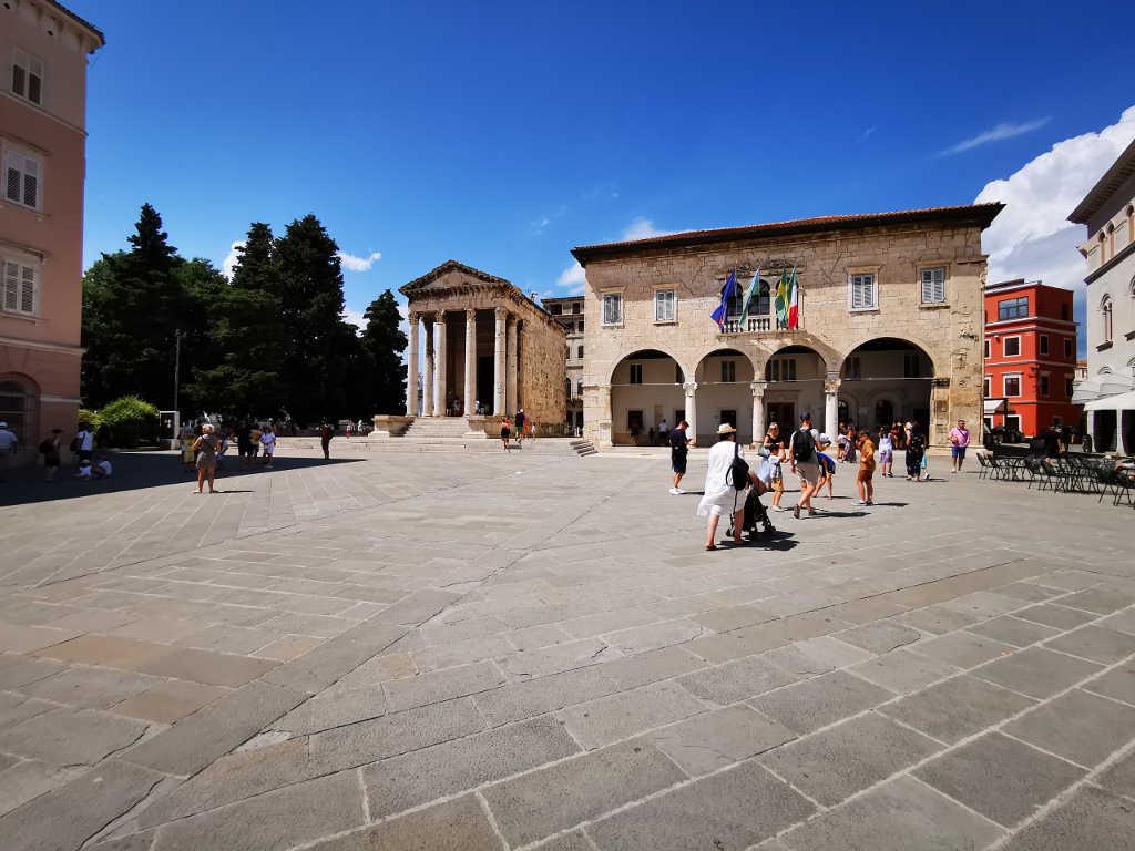 Augustus Tempel in Pula